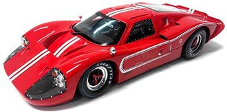 1967 Ford GT MK IV (Red w/White Stripes)