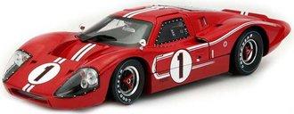 """1967 Ford GT MK IV """"LeMans #1 Winner"""" (Red w/White Stripes)"""