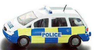 Police Ford Galaxy Minivan (Blue/Yellow)