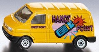 VW Delivery Van (Yellow)