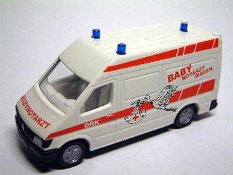 Mercedes Ambulance Van (White)
