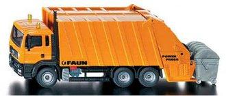 Garbage Truck w/Trash Bin