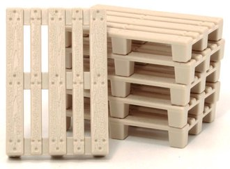 "1:43 50 Extra Pallets (1.5"" x 1"")"