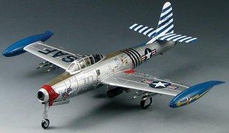 """F-84E Thunderjet """"Col. Robert Lee Scott, Jr., CO of 36th FBW, Germany, 1952"""""""