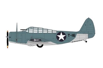 "TBD-1 Devastator USN VT-8 ""Black T-16, John Waldron"" USS Hornet, Battle of Midway, June 1942"