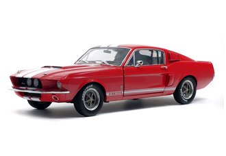 1:18 1967 Shelby Mustang GT500 (Red w/White Stripes)