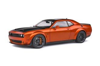 1:18 2020 Dodge Challenger SRT Hellcat Redeye Widebody (Orange Metallic)