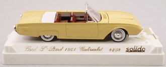 1961 Ford T-Bird Convertible (Yellow)