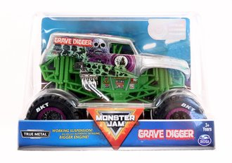 1:24 Grave Digger Monster Truck (Silver)