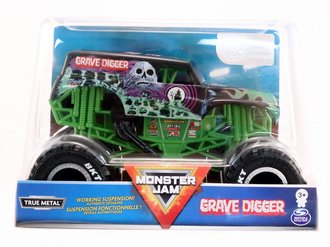 1:24 Grave Digger Monster Truck (Black)