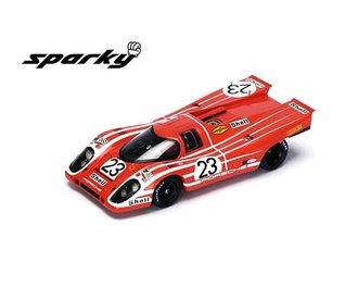 1:64 Porsche 917 K No. 23 24H Le Mans Winner 1970 (Red)