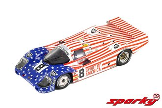 "1:64 Porsche 956 No.8 3rd 24H Le Mans 1986 G.Follmer - J.Morton - K.Miller ""Spirit of America"""