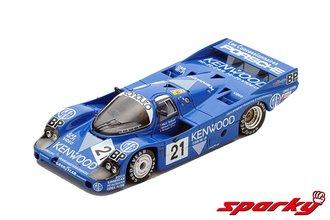 1:64 Porsche 956 No.21 3rd 24H Le Mans 1983 M.Andretti - M.Andretti - P.Alliot