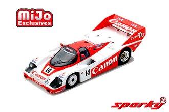 1:64 Porsche 956 No.14 2nd 24H Le Mans 1985 J.Palmer - J.Weaver - R.Lloyd