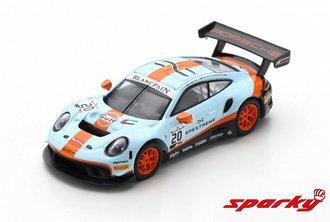 1:64 Porsche 911 GT3 R No.20 Gulf GPX Racing Winner 24H Spa 2019 R.Lietz - M.Christensen - K.Estre