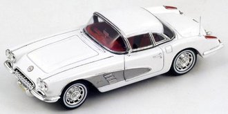 1960 Chevrolet Corvette C1 Hard Top (White)