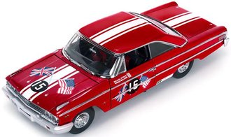 "1:18 1963 Ford Galaxie 500 XL ""#15 B.Williams/M.Steele, Goodwood Revival '11, St. Mary's Trophy Race"