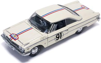 "1:18 1963 Ford Galaxie 500 XL ""#91 H.Greder/M.Foulgoc, 1963 Tour de France"""