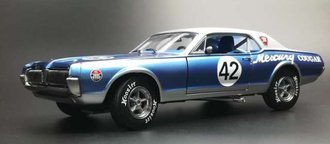 "1967 Mercury Cougar Racing ""#42 - 2011 Northwoods Shelby Club"""