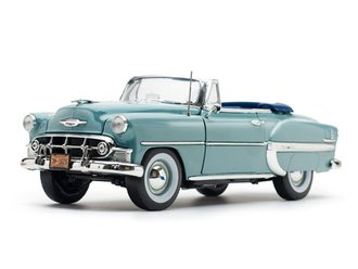 1:18 1953 Chevrolet Bel Air Open Convertible (Horizon Blue)
