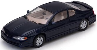 1:18 2000 Chevrolet Monte Carlo SS (Navy Blue)