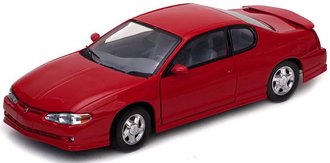 1:18 2000 Chevrolet Monte Carlo SS (Torch Red)