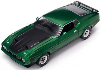 1:18 1971 Ford Mustang MACH I (Grabber Green)