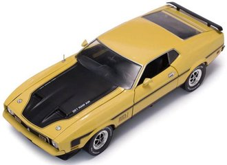 1:18 1971 Ford Mustang MACH I (Medium Bright Yellow)