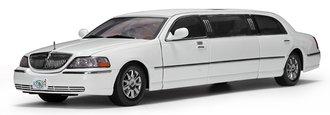 1:18 2003 Lincoln Limousine 2000 (Vibrant White)