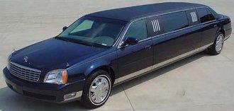 2004 Cadillac Deville Limousine (Blue)
