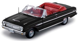 1:18 1963 Ford Falcon Convertible (Black)
