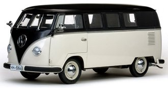 1958 Volkswagen Mini-Bus (Black/Beige Gray)