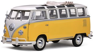 1962 Volkswagen Samba Bus (White/Yellow)