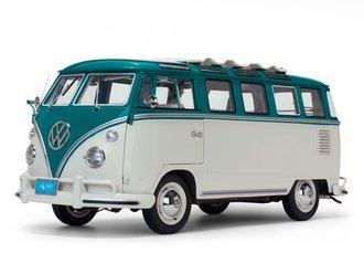 1962 Volkswagen Samba (Blue/Beige Grey)