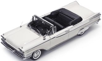 1:18 1959 Mercury Parklane Open Convertible (Marble White)