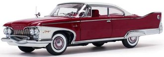 1:18 1960 Plymouth Fury Hard Top (Plum Red)