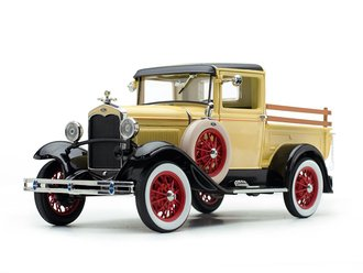 1931 Ford Model A Pickup (Bronson Yellow)