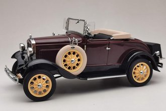1931 Ford Model A Roadster (Ford Maroon)