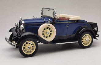 1931 Ford Model A Roadster (Riviera Blue)