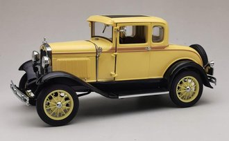 1931 Ford Model A Coupe (Bronson Yellow)