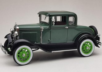 1931 Ford Model A Coupe (Vagabond Green)