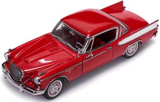 1:18 1957 Studebaker Golden Hawk (Apache Red)