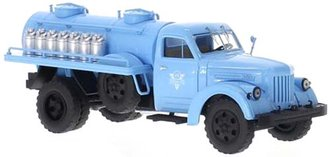 URAL 355M Milk Tanker Truck (Light Blue)