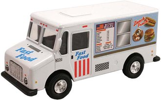 1:50 Lunch Fast Food Vending Truck