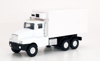 1:64 Kenworth Reefer Delivery Truck (White - Undecorated)
