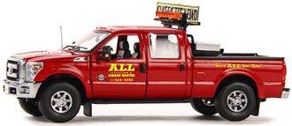 "Ford F-250 w/Crew Cab & 6' Bed w/Ladder Rack & Toolbox ""All Crane"""