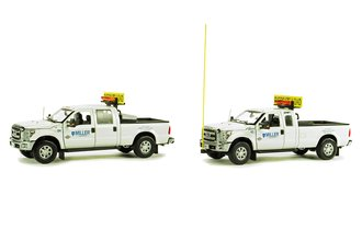 "Ford F-250 Escort Set w/Accessories ""Miller Transfer"""
