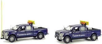 "Ford F-250 Escort Set w/Accessories ""Ocean Traders"""