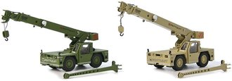 Military Shuttlelift 5540F Carrydeck Cranes (Green & Tan) (Set of 2)