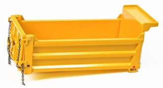 Dump Box Truck Load (Yellow)